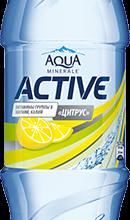 aqua minerale active citrus 0 6 l