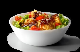 salat teriyaki